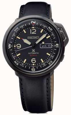 Seiko | prospex | hommes | automatique | cuir noir | SRPD35K1