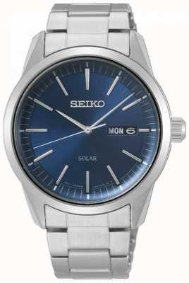 Seiko | série conceptuelle | solaire classique | hommes | cadran bleu | SNE525P1