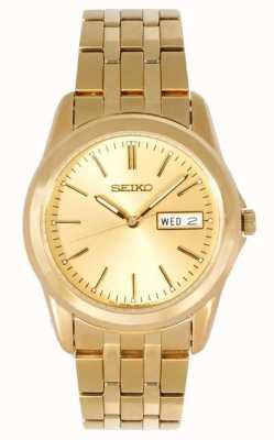 Montre-bracelet homme Seiko dorée SGGA48P1