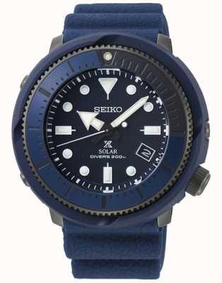 Seiko | Prospect Diver's | série de rue | silicone bleu marine | SNE533P1