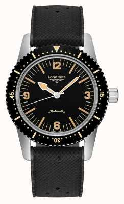Longines | patrimoine de montres skin diver | hommes | suisse automatique | L28224569