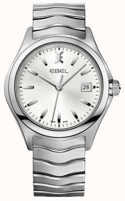 EBEL | vague mens | bracelet en acier inoxydable | cadran argenté | 1216200