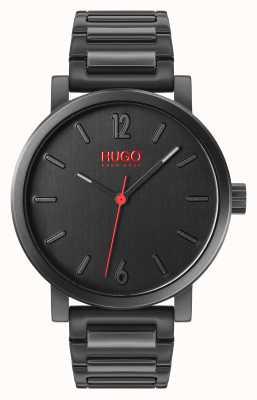 HUGO #rase | coffret cadeaux | porte-clés | titulaire de la carte | bracelet ip noir 1570096