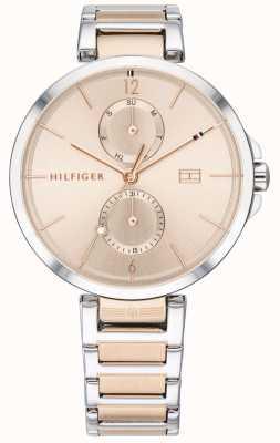 Tommy Hilfiger Angela | bracelet en acier inoxydable deux tons | cadran blush | 1782127