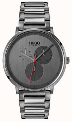 HUGO #guide | bracelet ip gris | cadran gris 1530012