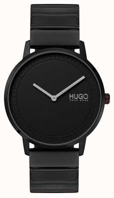 HUGO #echo | bracelet ip noir | cadran noir 1520020