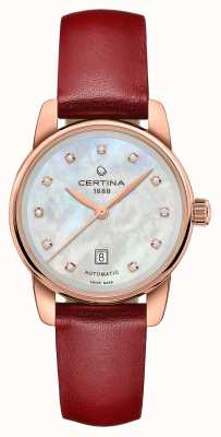 Certina | ds podium | dame automatique | diamant de nacre | C0010073611602