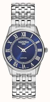 Roamer | des femmes | sonate | bracelet en acier inoxydable | cadran bleu | 520820-41-45-50