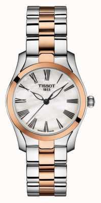 Tissot | t-wave | bracelet bicolore pour femme | cadran en nacre | T1122102211301