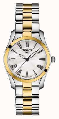 Tissot | t-wave | bracelet bicolore pour femme | cadran en nacre | T1122102211300