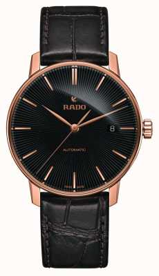 Rado Montre-bracelet automatique Coupole Classic en cuir marron R22861165