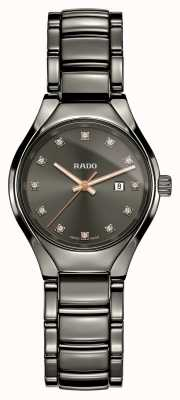 Rado | vrais diamants | plasma céramique high-tech | cadran gris R27060732