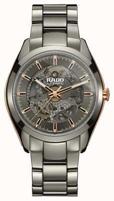 Rado Montre bracelet en céramique à coeur ouvert hyperchrome automatique R32021102