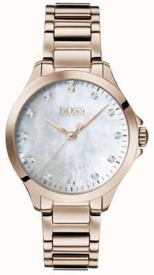 BOSS | diamants pour elle | or rose | nacre | 1502523