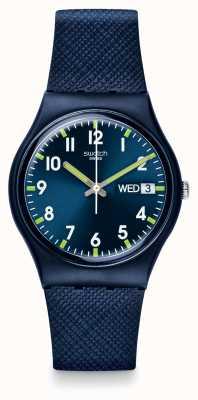 Swatch | homme original | montre monsieur bleu | GN718