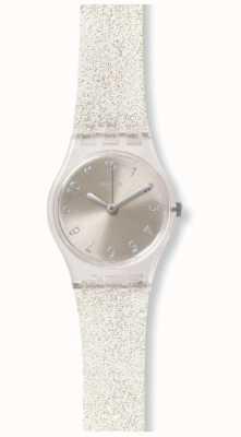 Swatch | dame d'origine | Silver Glistar aussi regarder | LK343E