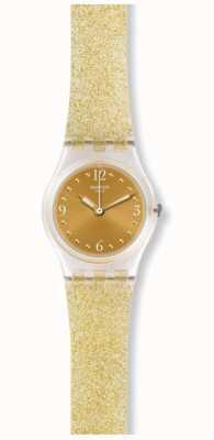 Swatch | dame d'origine | Golden Glistar aussi regarder | LK382