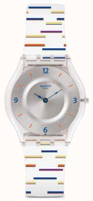 Swatch | peau classique | montre fine doublure | SFE108