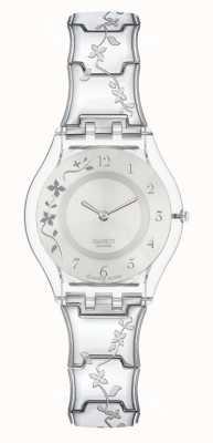 Swatch | peau classique | montre grimpante fleurie | SFK300G