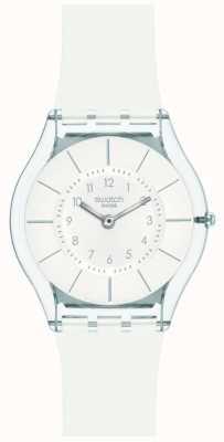 Swatch | peau classique | montre de classe blanche | SFK360
