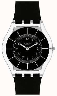 Swatch | peau classique | montre de classe noire | SFK361