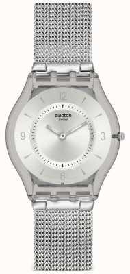 Swatch | peau classique | montre en métal | SFM118M