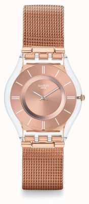 Swatch | peau classique | bonjour montre chérie | SFP115M