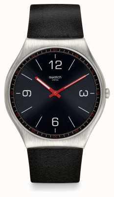 Swatch | ironie de la peau 42 | montre skinblack | SS07S100