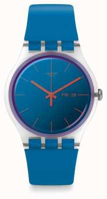 Swatch | nouveau gentil | montre polablue | SUOK711