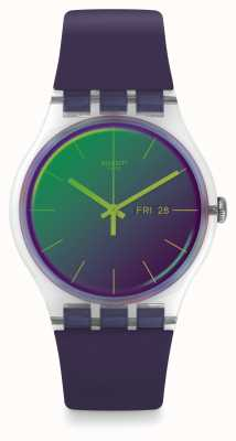 Swatch | nouveau gentil | montre polapurple | SUOK712