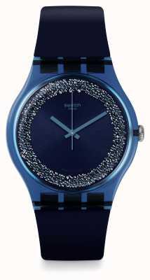 Swatch | nouveau gentil | montre bluesparkles | SUON134