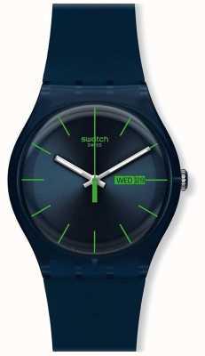 Swatch | nouveau gentil | montre rebelle bleue | SUON700