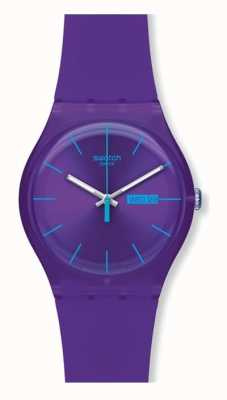 Swatch | nouveau gentil | montre pourpre rebelle | SUOV702