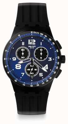 Swatch | chrono plastique | montre nitespeed | SUSB402