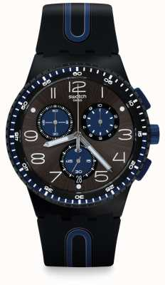 Swatch | chrono plastique | montre kaicco | SUSB406