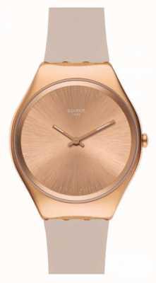 Swatch | ironie de la peau | montre skinrosee | SYXG101