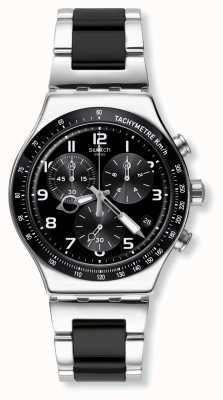 Swatch | nouvelle chrono ironie | accélérer la montre | YVS441G