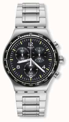 Swatch | nouvelle chrono ironie | vol de nuit | YVS444G