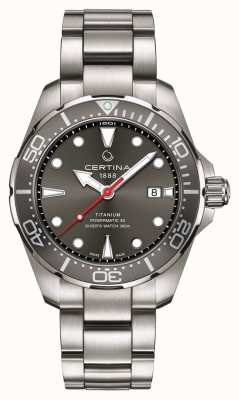 Certina | ds action | plongeur powermatic 80 | titane | C0324074408100