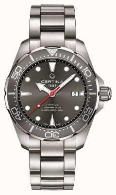 Certina | action ds | plongeur powermatic 80 | titane | C0324074408100
