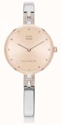 Tommy Hilfiger | kit femme | bracelet en acier inoxydable | cadran en or rose | 1782138