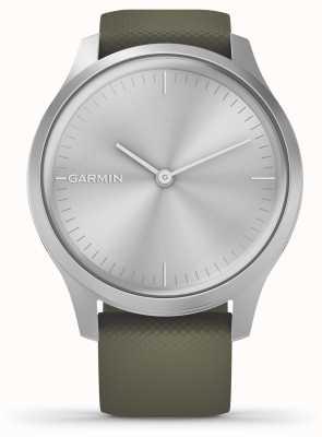 Garmin Style Vivomove | boîtier en aluminium argenté | bracelet en silicone mousse 010-02240-01