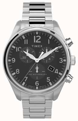 Timex | waterbury chrono traditionnel 42mm | acier inoxydable TW2T70300