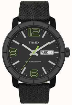 Timex | mod 44mm hommes | sangle en nylon noir | cadran noir | TW2T72500