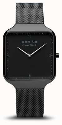 Bering | max rené | bracelet en acier noir | cadran noir | 15836-123