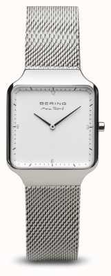 Bering | max rené | argent poli pour femme | bracelet en maille d'acier | 15832-004