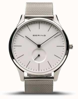 Bering | classique | l'argent poli des hommes | bracelet en maille d'acier | 16641-004
