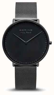 Bering | max rené | noir mat homme | bracelet en acier noir | 15738-123