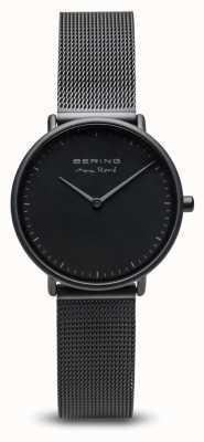 Bering | max rené | noir mat femme | bracelet en acier noir | 15730-123