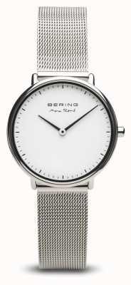 Bering | max rené | argent poli pour femme | bracelet en maille d'acier | 15730-004